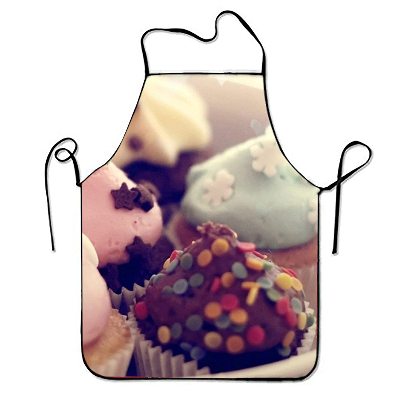 GOOESING Unisex Custom Love Mousse Aprons Waterproof Aprons Kitchen Cooking and Bib BBQ Apron