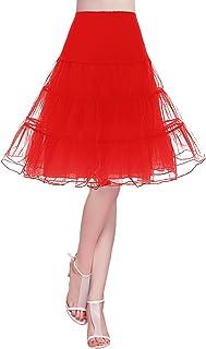 47814981c7c Bridesmay Jupon Femme Vintage Rockabilly Années 50 sous Robe Jupe en Tulle