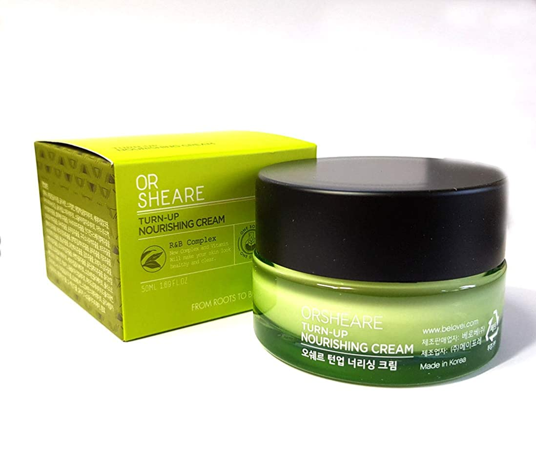 挨拶クラックキャプション[OR SHEARE] トンオプ栄養クリーム50ml / Turn-up Nourishing Cream 50ml / 保湿、再生/Moisturizing,Revitalizing/韓国化粧品/Korean Cosmetics [並行輸入品]