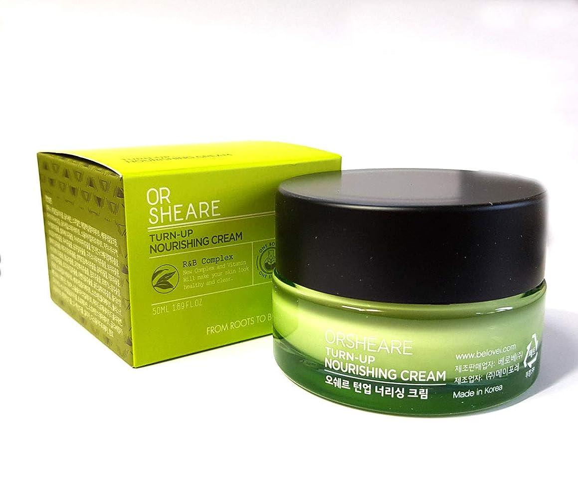 コレクションカストディアン証明[OR SHEARE] トンオプ栄養クリーム50ml / Turn-up Nourishing Cream 50ml / 保湿、再生/Moisturizing,Revitalizing/韓国化粧品/Korean Cosmetics [並行輸入品]