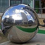 Sfere a specchio Fastar in acciaio inossidabile 304, sfere lisce per la decorazione di casa e giardino, ornamento 30cm