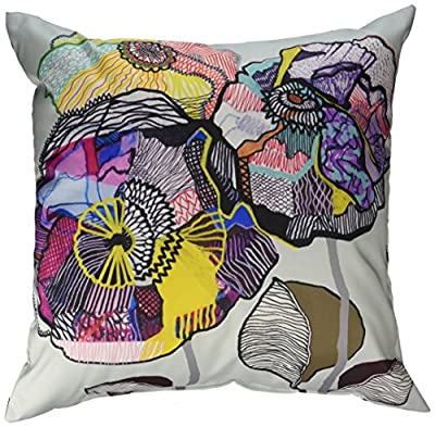 DENY Designs Mikaela Rydin Growing Throw Pillow, 20 Inch by 20 Inch