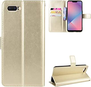 Litao-Case HD Case for OPPO A3S Case Flip leather + TPU Silicone fixing Cover 2