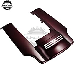 Us Stock Mysterious Red Sunglo 4 1/2 inch Stretched Rear Fender Extension Fit for Harley Touring Road King Street Glide Special 2014-2019 Fender Filler Kit Extended Extender Flare