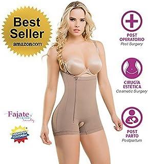 160ac6b4d2 Fajate Virtual Sensuality Colombian Post-Surgery Postpartum Body Shaper  Girdle  435 Thin Removable
