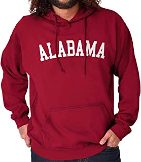 Alabama Athletic Student Vacation Souvenir Hoodie