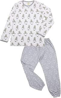 Baa Baa Sheepz Pyjamas Set, White/grey, 6-12M