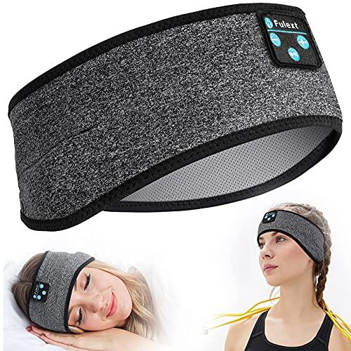 Sleep Headphones Bluetooth, Perytong Sleeping Headphones Headband - Soft Elastic Comfortable Headband Headphones, Gifts for Men Women Teenager, Father Mothers Day Birthday