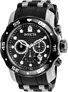 Invicta Men's 17879 Pro Diver Analog Display Swiss Quartz Black Watch
