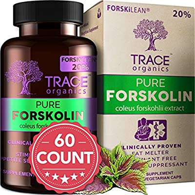 WANT TO LOSE WEIGHT FAST? Try Pure Forskolin Extract DIET PILLS! Weight Loss Supplement - Appetite Suppressant Burns Belly Fat.