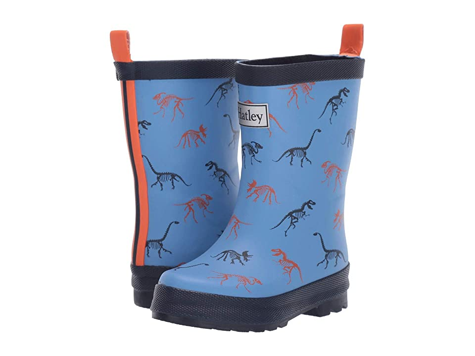 Hatley Kids Limited Edition Rain Boots (Toddler/Little Kid) (Silhouette Dinos) Boys Shoes