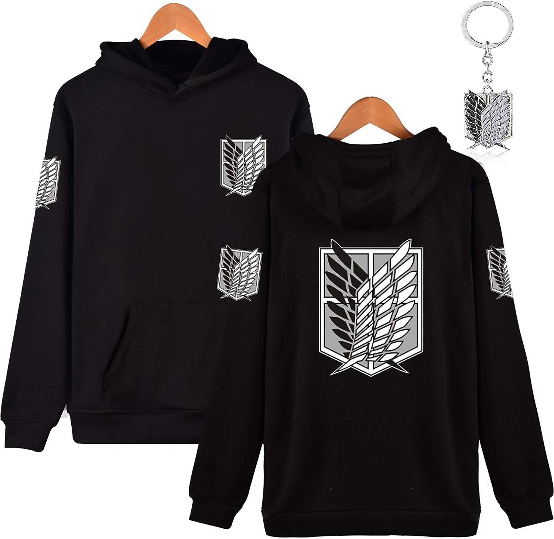 Attack on Titan Scouting Legion Eren Mikasa Cosplay Hoodie Sweatshirts Coat