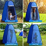 Laelr Pop up Toilet Tent, 4 Pack Shower Privacy Toilet Changing Room Changing Tent Foldable & Portable Beach Dressing… 10