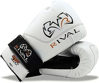 Rival Boxing Gloves-RB1 Ultra Bag Gloves (White, 10oz)