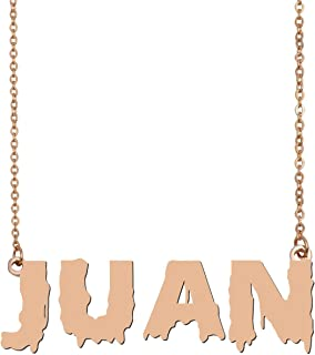 Halloween Thanksgiving Day Name Necklace Personalized Gold Girls Necklaces