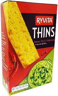Ryvita Thins Sweet Chili Flatbreads, 4.4 Ounce