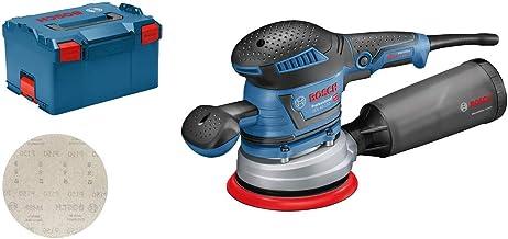 Bosch Professional excenterschuurmachine GEX 40-150 (incl. extra handgreep, stofbox, schuurplateau-⌀ 150 mm, netschuurblad...