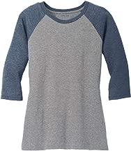 Joe's USA Ladies Raglan Baseball T-Shirts-3/4 Sleeve Baseball Tees. Sizes XS-4XL