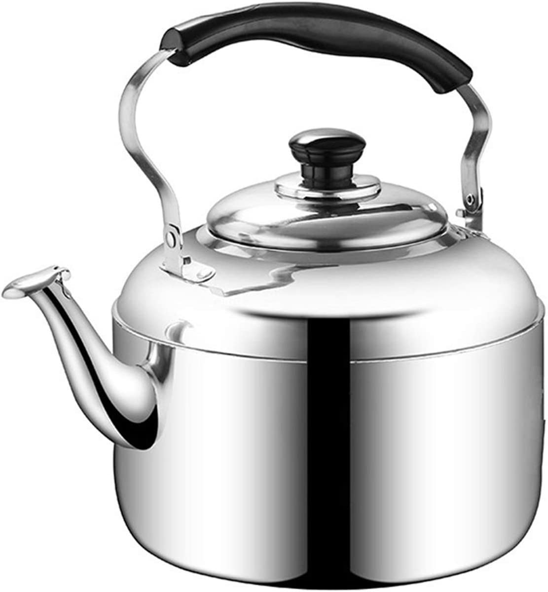 Stainless Steel Thickened Whistle Teapot Handle Limited time for free shipping House Sale special price Ergonomic