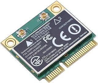 Diyeeni Tarjeta WiFi Tarjeta de Banda Dual 2.4G / 5GHz Tarjeta de Red 433Mbps Bluetooth 4.2 WiFi Mini PCI-E inalámbrica, Compatible con computadora de Escritorio, Laptop, Panel de Control Industrial,