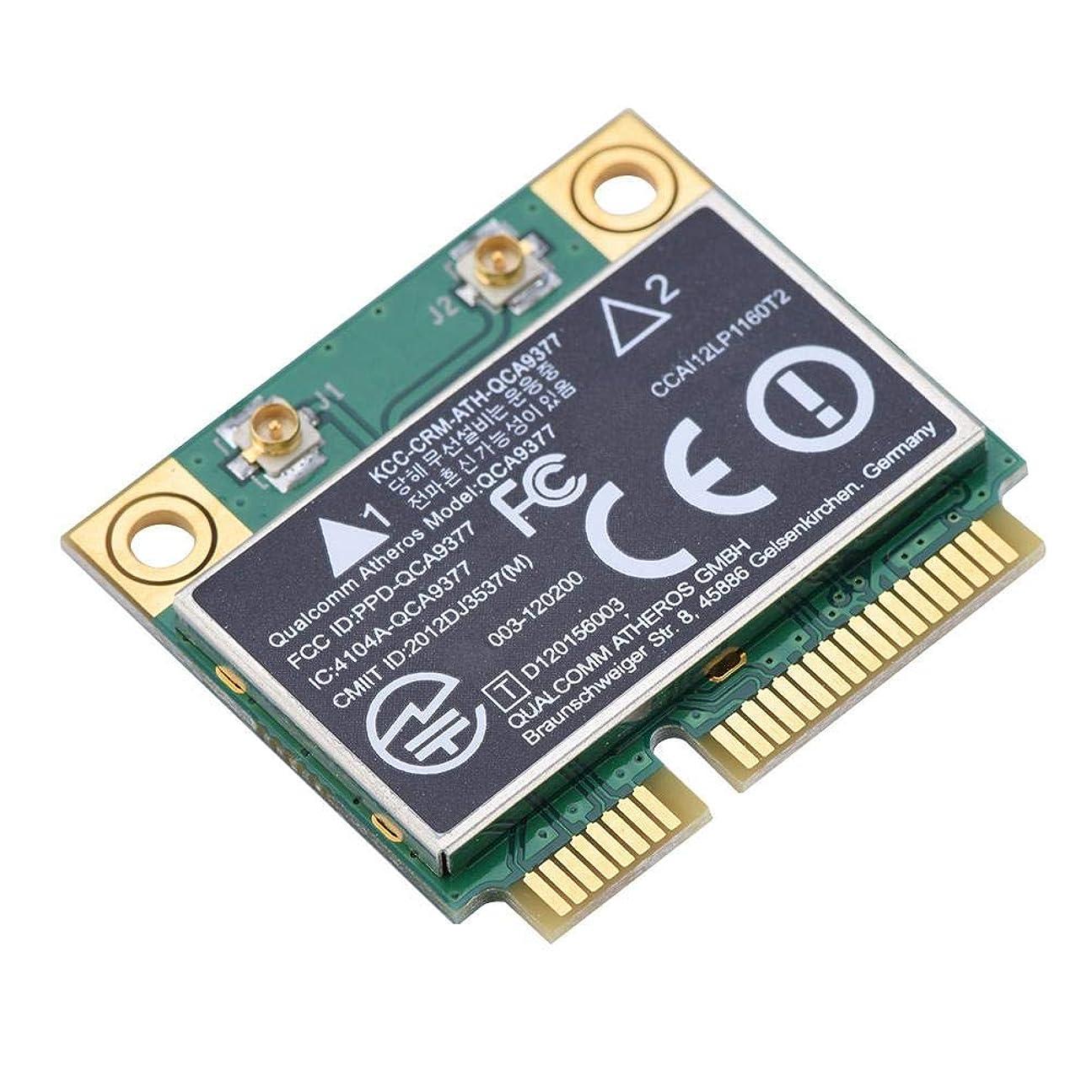 ブレーク増加するプロポーショナルミニWIFIカード VBESTLIFE 433Mbps デュアルバンド2.4G / 5GHzネットワークカード PCI-Eワイヤレスカード Windows 7/10対応