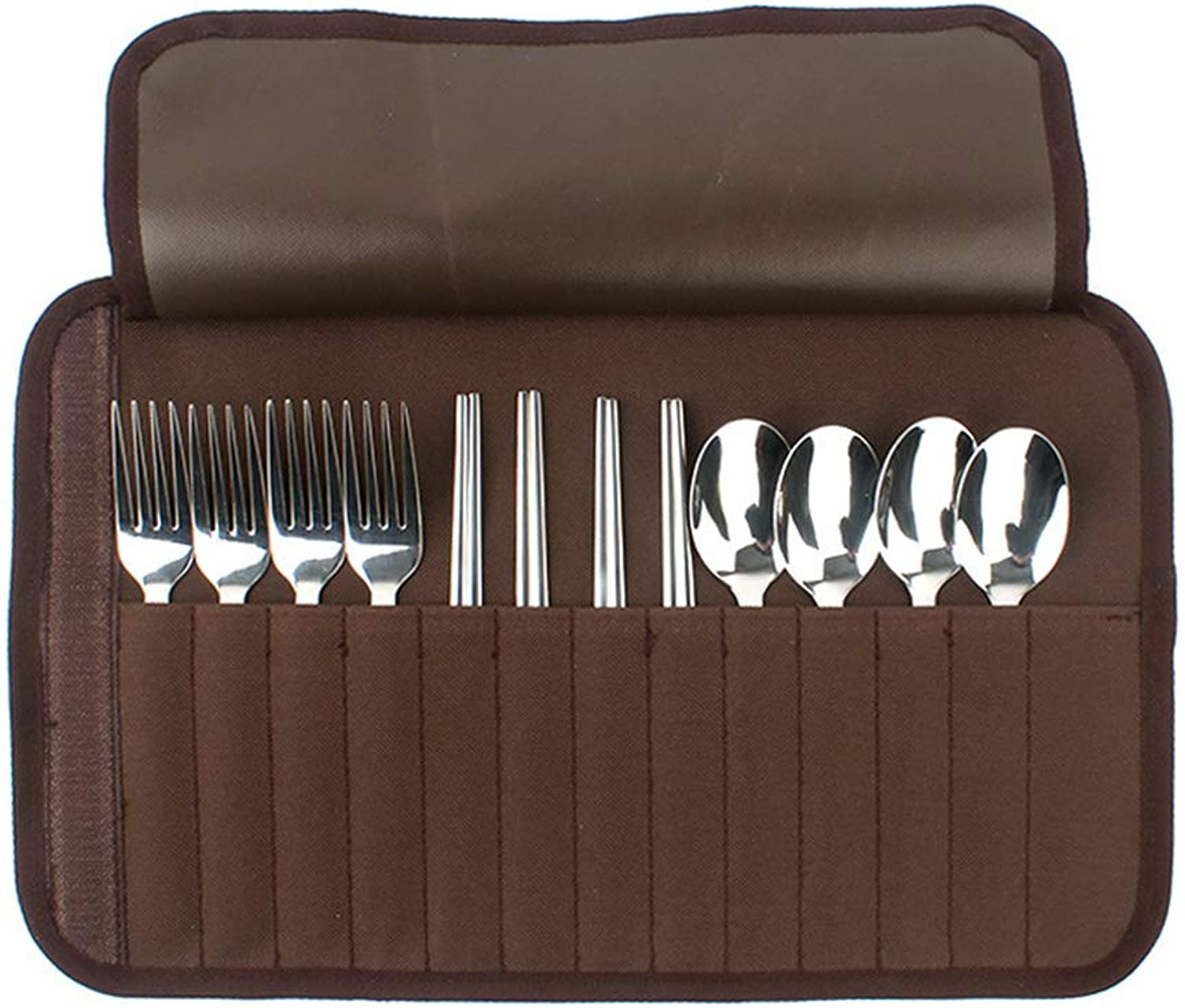 Grill Tool Set,Outdoor Cutlery Set,Tableware,Stainless Steel Cutlery Camping Set Portable Outdoor Travel.
