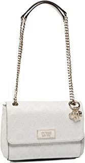 GUESS Womens Logo Love Cross-Body Handbag