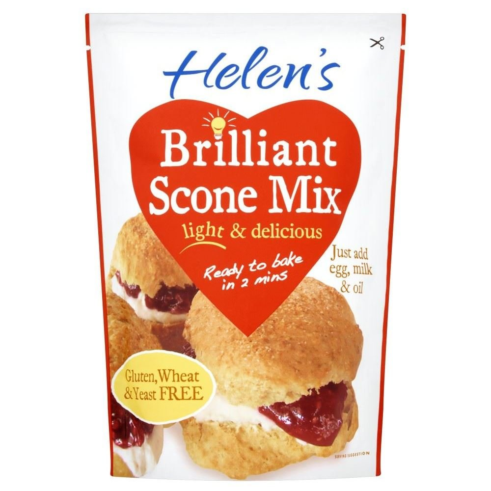 Helen's San Jose Mall Brilliant Direct sale of manufacturer Scone Mix - Gluten 280g 6 Free Pack
