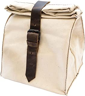 Durable Canvas All Purpose Lunch Bag Handmade by Hide & Drink