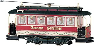 Closed Street Car Christmas - On30 Scale