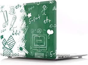 HRH Cartoon Math Design Laptop Body Shell Protective Hard Case for MacBook New Pro 13 inch with Touch bar A2159 A1706 A1989/No Touch bar A1708 A1988(2019 2018 2017 2016 Release)