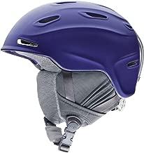 Smith Optics Arrival Women's Ski Snowmobile Helmet , Metallic Black