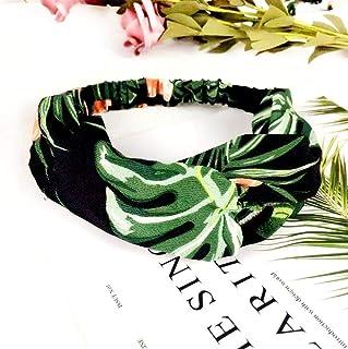 ZANGAO Femmes Imprimer Bandeaux été Bandeaux Crémeux Croix Turban Hairband Accessoires Cheveux Fille Accessoires