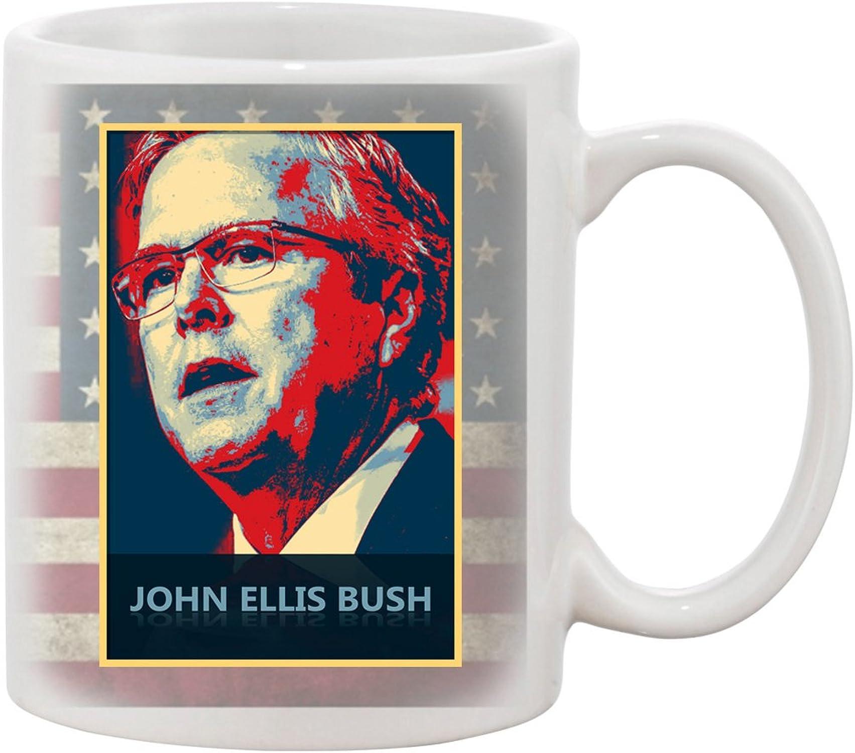 Ceramic Coffee Mug - JEB - Presidential Candidate Design by B&A
