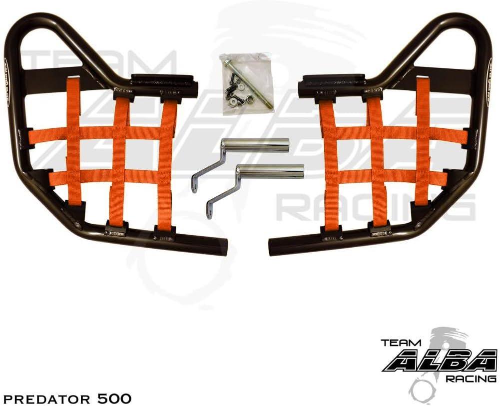 It is very popular Polaris Predator 500 2003-2007 Standard Bars Orang Finally resale start Nerf Black