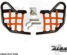 Polaris Predator 500 (2003-2007) Standard Nerf Bars Black (Orange)
