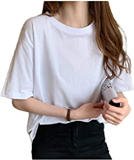 Doufine Womens Short Sleeve Tee Casual T Shirts Loose Blouse Top