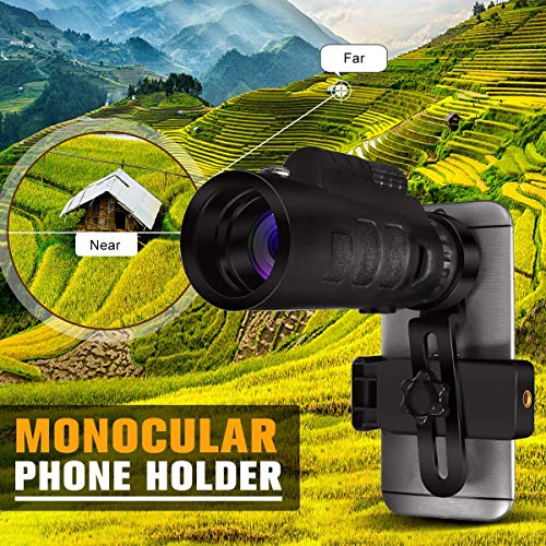 Buy Discount Generic 35x50 HD Optical Monocular Telescope Zoom Phone Lens Hunting Camping Telescope ...