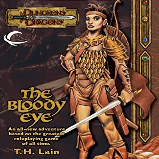 The Bloody Eye audiobook cover art