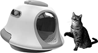 Cat Litter Box Space Capsule Deodorant puppy Toilet Fully Enclosed Dog Potty anti-splash Kitten Bedpans