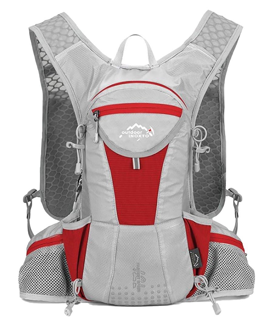 変位ライド咳[キャプテン?ケイ] ハイドレーション 対応 サイクリング ランニング バックパック 軽量 リュック ヘルメットホルダー付き