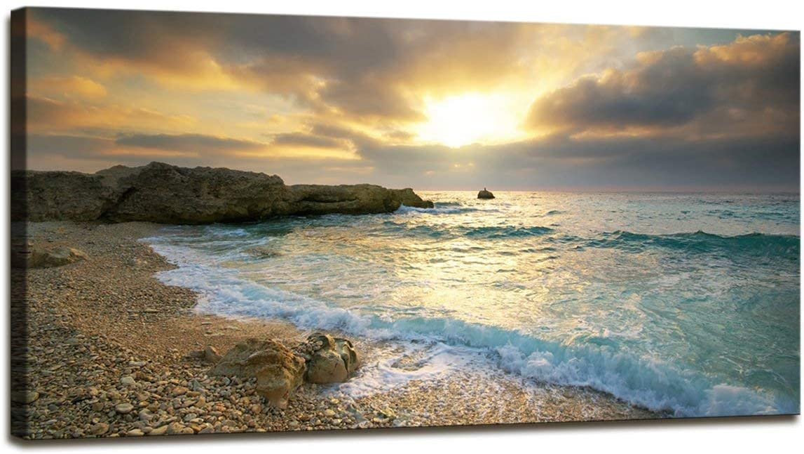 Calm Print Sea Print Wall Art Waves Print Digital Download Ocean Waves Print Beach Photo Coastal Print Blue Beach Printable