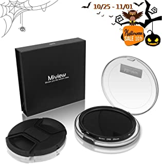 Miview CND Filter | Variable Fader ND2-ND32 ND Filter & CPL Circular Polarizing Filter 2 in 1 for Camera Lens with Nano Coating (58mm)