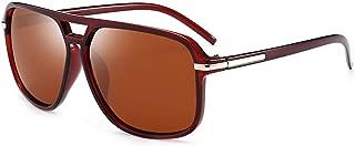 Sunglasses Men Polarized Oversized Mirror Driving Sun Glasses Man Retro Driver Sunglass