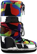 Cape Robbin Runaway Puffy Lace Up Mid Calf Cozy Winter Boots
