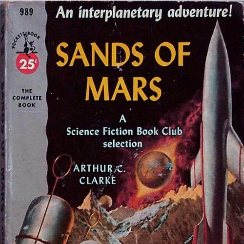 The Sands of Mars audiobook cover art