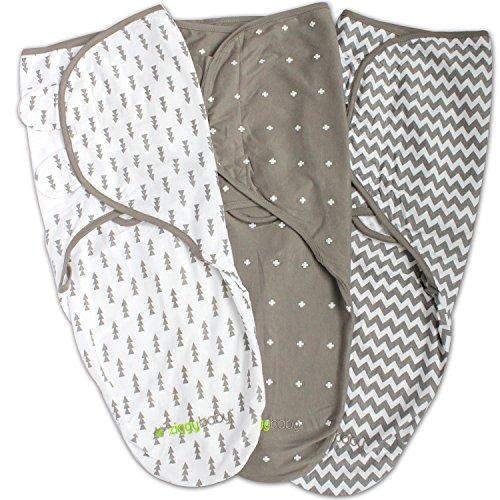 Swaddle Blanket, Adjustable Infant Baby Wrap, Soft Cotton in Ultra Grey - Baby Swaddle Blanket, Baby Swaddles 0-3 Months, Swaddle Blankets for Baby Boy, Baby Boy Swaddle, Baby Boy Swaddle Blanket