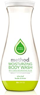 Method Moisturizing Body Wash, Olive Leaf, 18 Ounce (6 Pack)