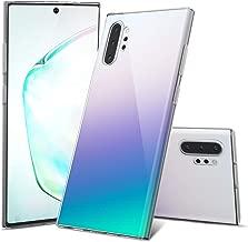 Dessvon Samsung Galaxy Note 10 Plus Case Cover Clear, Ultra Slim Soft TPU Crystal Note 10 Plus 5G Case Anti-Scratch Shock Absorption Phone Protective Case for Samsung Galaxy Note 10+ Plus, 6.8''