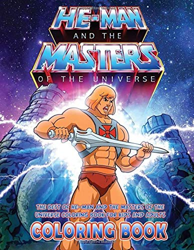 The Best of He-man and the Masters of the Universe Coloring Book for Kids and Adults, Paperback (115 pages)